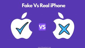 Spot A Fake iPhone 11