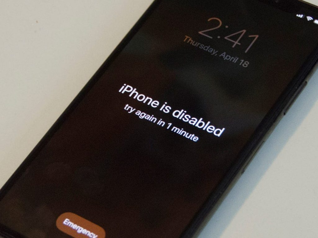 how to unlock a disabled iphone without itunes or icloud or computer