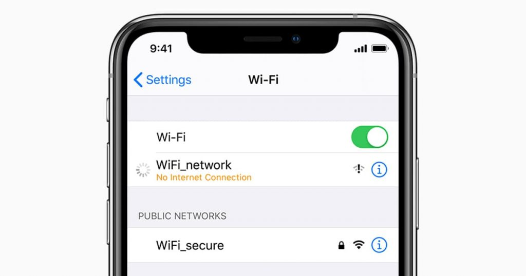iPhone Connected to Wi-Fi But No Internet